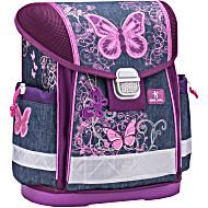 Школьный ранец Belmil 403 13 Purple Flying Butterfly - Белмил Бабочка фиолетовый