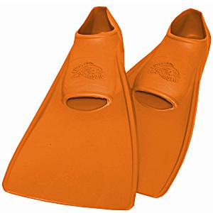 Ласты SwimSafe детские закрытая пятка для бассейна резиновые размер – 24 оранжевые СВИМСЕЙФ Германия