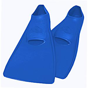 Ласты SwimSafe детские закрытая пятка для бассейна резиновые размер – 24 синие СВИМСЕЙФ Германия